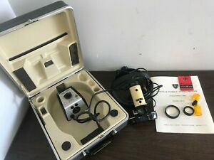 American Optical A o Indirect Ophthalmoscope W Power Supply Lenses And Case