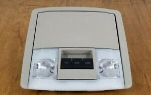 07 14 Ford Expedition Overhead Console Map Lights Sunroof Sunglasses Storage
