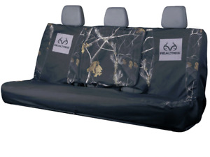 Realtree Black Switch Back Bench Seat Cover Water And Dirt Resistant Rsc5018