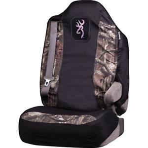 Browning Universal Seat Cover In Mossy Oak Break Up Infinity W Pink Trim Bsc4412