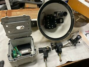 Moog Videolarm Q View Tm In Dome Multiple Four Camera System With Wall Mount