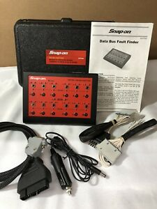 Snap On Eeff500 Data Bus Fault Finder Diagnostic Tool W Case And Adapters