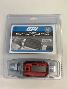 Gpi 01a Series Electronic Digital Meter For Petroleum Fuels Only Brand New