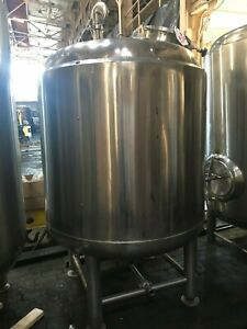 10 Barrel 10 Bbl Stainless Steel Whirlpool Tank Brewery Brewing Beer Made In Usa