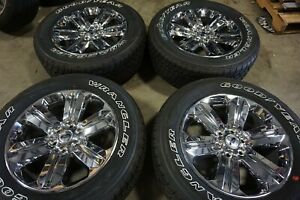 20 New Ford F150 Chrome Pvd Factory Oem Wheels Rims Tires Expedition 10171