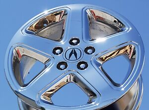 4 New Chrome 17 Acura Cl Type S Oem Factory Wheels Rims Tl Mdx Tsx Rsx 71715