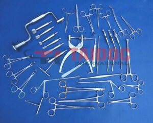 Neuro Surgery Instruments Set German Stain Less Steel Quality A
