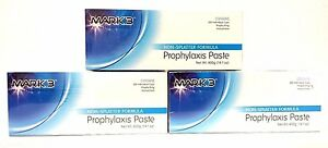 3x Prophy Paste Non spaltter Medium Assorted Total Of 3 X 200cups By Mark3