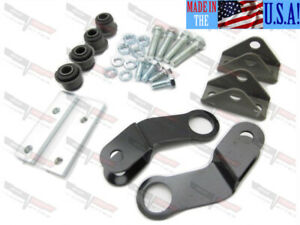 Corvette New Rear Sway Bar End Link Kit 7 16 9 16 1963 1982 Made In The Usa