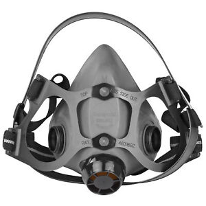 Honeywell Safety Products 5500 Series Half Mask Respirator Black 550030