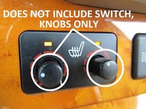 2004 2009 Lexus Rx330 rx350 Heated Seats Controller Knobs x2