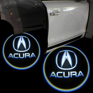 For Acura Tlx Rlx Mdx Tl Zdx Replacement Led Projector Lights Door Logo Laser