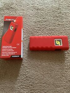 Snap On Tools Pocket Flood Light Flashlight And Laser Pointer Extreme Red New