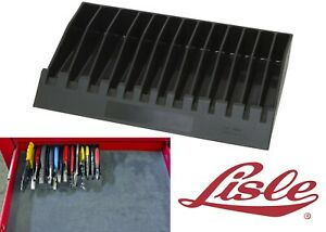 Lisle 40460 Black Pliers Wrench Tool Storage Organizer Rack New Free Shipping