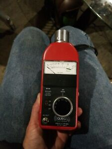 Quest Electronics 211a fs Sound Level Meter W permissible Calibrator Ca 12