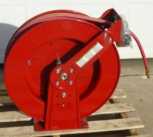 Reelcraft Tw86075 Olpt 3 8 X 75 Ft Oxy Acetylene Gas Hose Reel New Free Ship