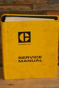 Caterpillar 772 Tractor 773 Truck Service Manual Cat 80s 63g 5 4 Bore V8