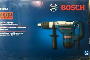 Bosch 11247 Spline 1 9 16 Combination Rotary Hammer Drill New In Case