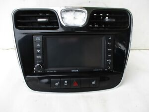 Chrysler Dodge Jeep Navigation Stereo Radio Dash Dashboard Navi System W Bezel