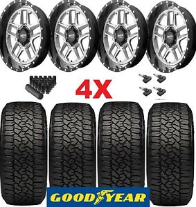 16 Wheels Rims Tires 265 70 16 Goodyear Trailrunner At Colorado Canyon Off Road