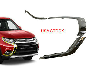 Usa Front Bumper Rh Chrome Molding Trim Strip For Mitsubishi Outlander 2016 2019