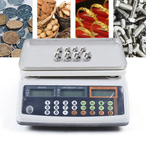66 X 0 002lb Postal Shipping Scale Weight Postage Digital Counting 30kg