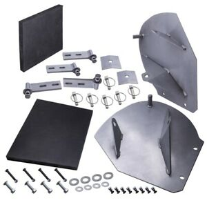 Pro Wings For Pw22 Snow Plow Pro wings Extensions Additional 20 Of Blade Width