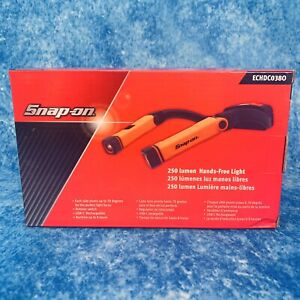 Snap On 250 Lumen Rechargeable Hands Free Light Neck Work Light Echdc038o Orange