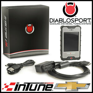 Diablo Sport Intune I3 Platinum Race Programmer Tuner For 2017 2020 Chevy Tahoe