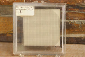 Vintage Ami Semiconductor Glass 4 Square Photo Mask Plate Silicon Wafer 3