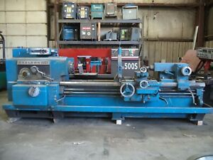 Axelson usi Clearing 25 X 80 Geared Head Engine Lathe mechanics Special