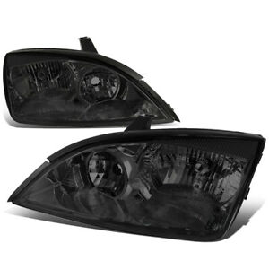 For 2005 2007 Ford Focus Headlight Headlamp Lamps Driver Passenger Side Smoked