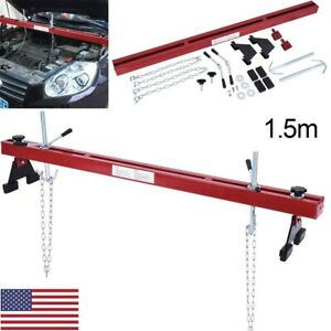 1100 Lb Heavy Duty Engine Load Leveler Support Bar Transmission With Dual Hook
