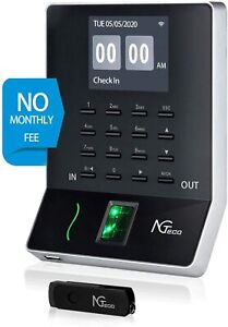 Biometric Fingerprint Time Attendance Terminal Time Clock Machine Attendance