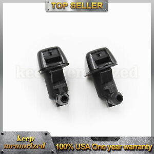 Oem Us New Set Of 2 Windshield Washer Jet Nozzle For Ford F250 F350 Bc3z17603a