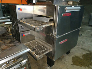 Blodgett Double Stack Pizza Impinger Electric Ovens Mt2136e Shipping