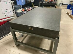 Granite Inspection Table 4 x 6 With Stand