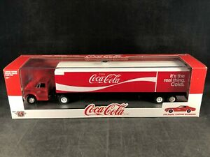 M2 Machines Coca-Cola 1970 Chevy C60 Semi w/1971 Chevy Camaro SS 396 NIB