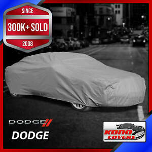 Dodge Outdoor Car Cover All Weather Waterproof Full Body Custom Fit