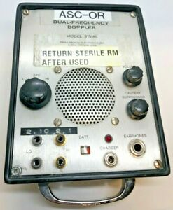 Parks Medical 915 al Dual frequency Doppler For Parts not Working