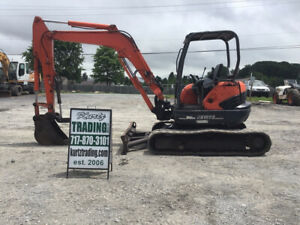 2007 Kubota Kx161 3 Hydraulic Mini Excavator W Thumb Super Clean Only 1700hrs