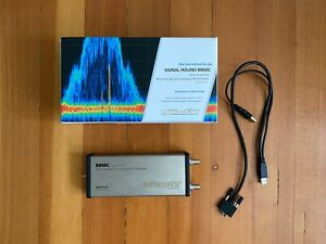 Signal Hound Bb60c 9khz 6ghz Spectrum Analyzer Opt 1