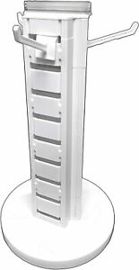 Spinning Retail Store Display Hanging Counter Top Rack multi Tier Compact