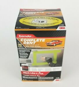 3m One Bondo 31566 Complete Dent 20 Paintable Permanent Non Shrinking Repair Kit
