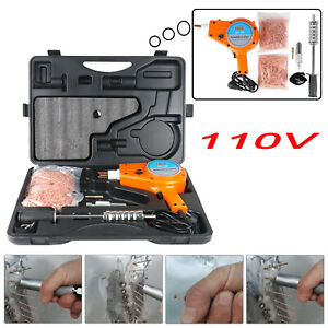 110v Car Stud Dent Welder Kit 1600a Stud Welder With Muti Hook Weld Meson Pads