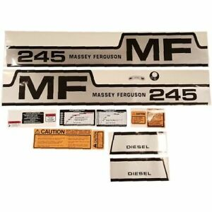 Decal Set For Massey Ferguson 245