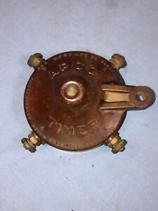 Apco Timer Model T Ford Vintage Antique Distributor Cap Boat Motor