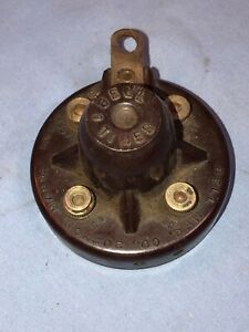 Bell Timer Model T Ford Vintage Antique Distributor Cap Boat Motor