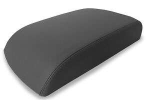 Console Lid Armrest Cover Leather For Ford Explorer Limited 2011 2019 Gray