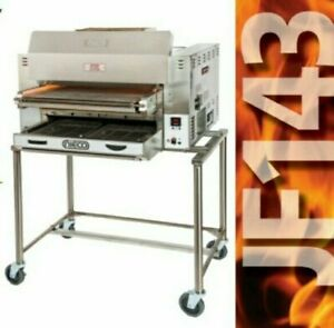 New Nieco Jf143 2g Automatic Broiler Gas Charbroiler Oven
